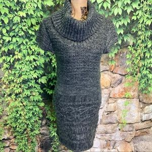 SAY WHAT? Juniors' Knit Sweater Dress, L